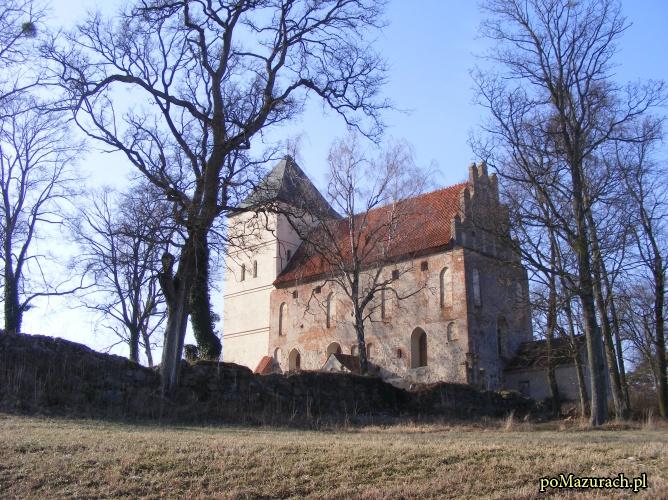 poMazurach.pl - Zamek w Bezławkach